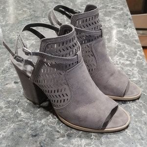 American Eagle (Payless) peep toe booties